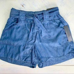 NWT Apt. 9 Chambray Denim Shorts